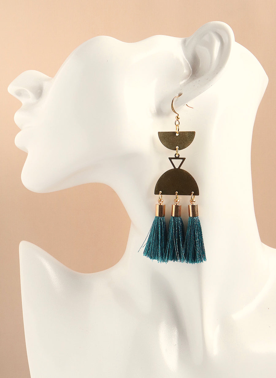 Amunet Tassel Earrings