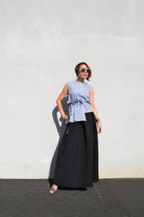 Side-Ruched Top - BUNO DESIGN