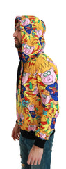 Yellow Pig of the Year Hooded Sweater