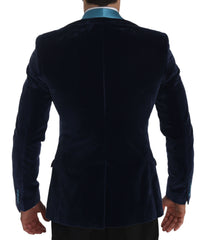 Blue GOLD Slim Fit Cotton Blazer Jacket