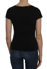 Black Short Sleeve Top UNDERWEAR T-shirt
