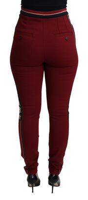 White Polka Dots Jodhpur Trouser Cotton  Pant