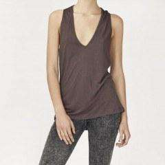 Plead Wrap Vest Top