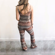 Multi Colour Zig Zag Co-Ord Set
