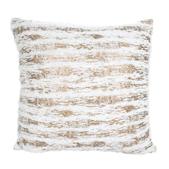 Cream and Gold scatter cushion cover (Includes Cushion)