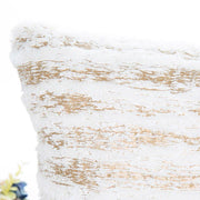 Cream and Gold scatter cushion cover