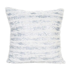 Silver scatter cushion cover (Includes Cushion)