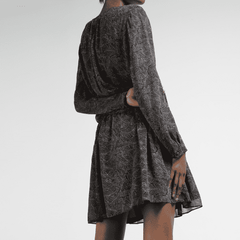 Aline Wrinkled J.Lindeberg Dress - Back View