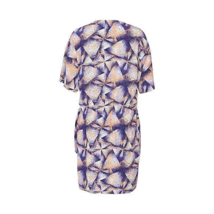 Print Firo Wrap Dress