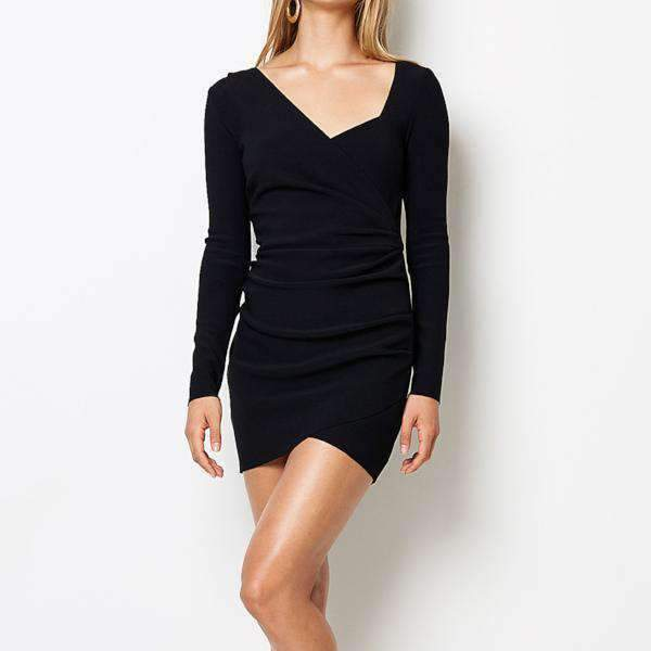 Tasha Long Sleeve Bec & Bridge Mini Dress - Front View