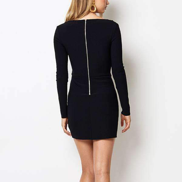 Tasha Long Sleeve Bec & Bridge Mini Dress - Back View