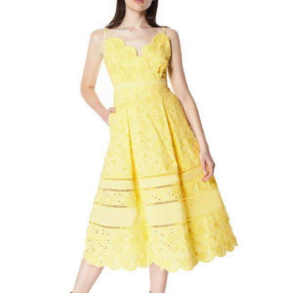Zest Three Floor Midi Dress - Front View