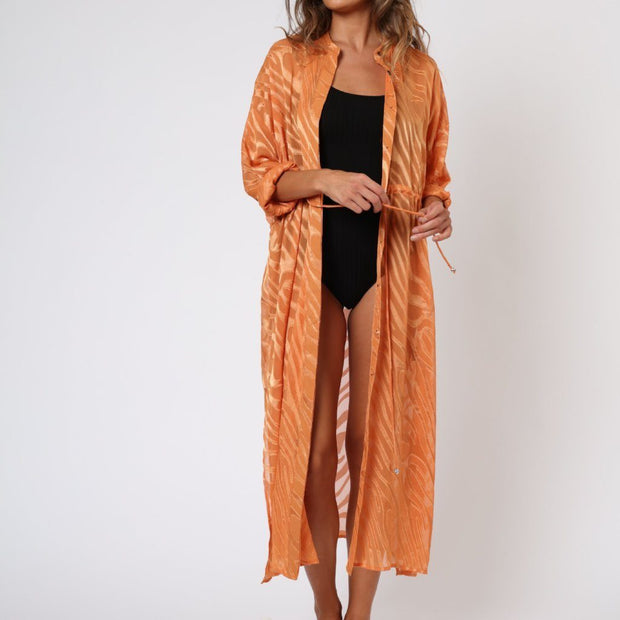 Hold Shirt Religion Maxi Dress Front View