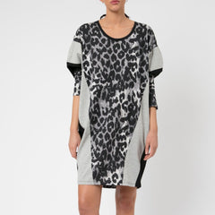 Religion Leopard Print Crown Dress
