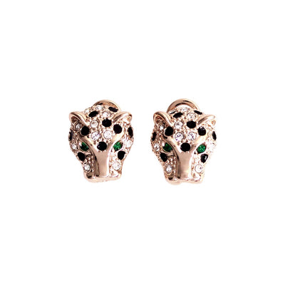 Panther Crystal Earrings
