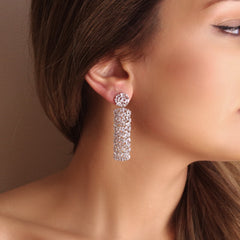 Purity In Complexity Earrings