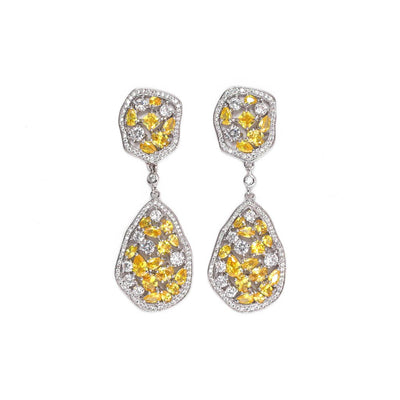 Solaris Zirconia Statement Earrings