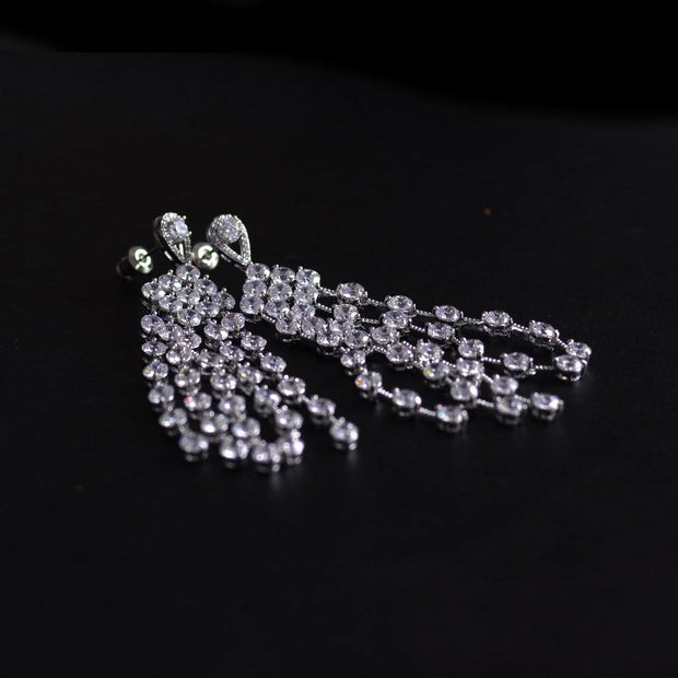 Sparkly Delight Statement Earrings