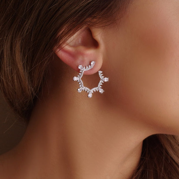 Sparkly Vortex earrings