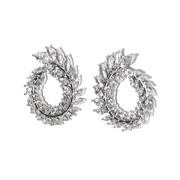 Spiral Sparkle Earrings
