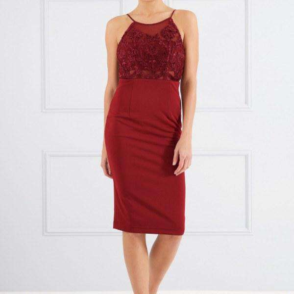 Scarlett Midi Pencil Dress