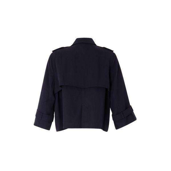 Cropped Coster Copenhagen Trench Jacket - Back View