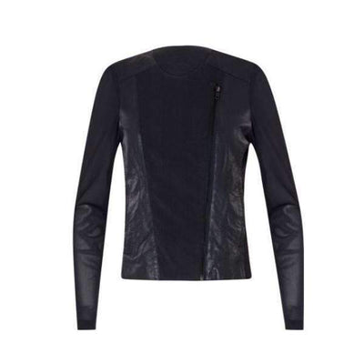 Faux Leather Coster Copenhagen Short Jacket - Front View