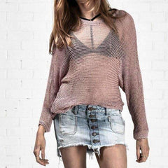 French Wide One Teaspoon Jumper - Front View