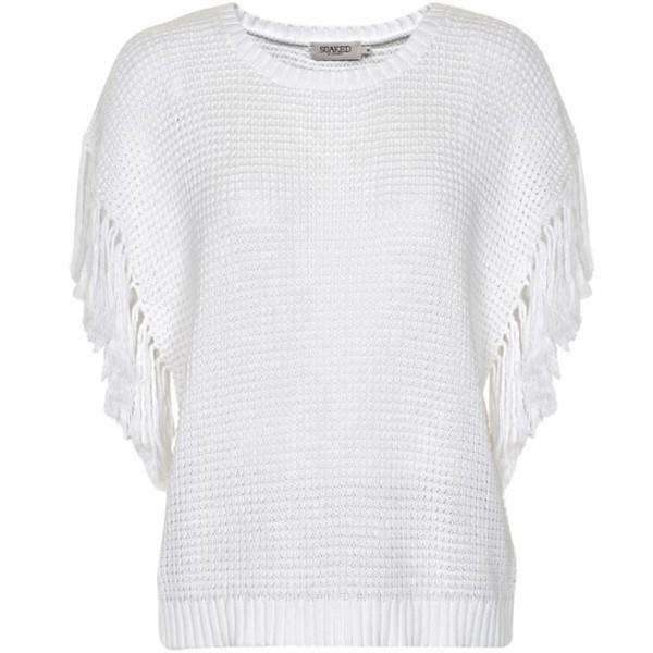 FRINGLY KNIT SOAKED JUMPER - TWENTY SIX Fashion