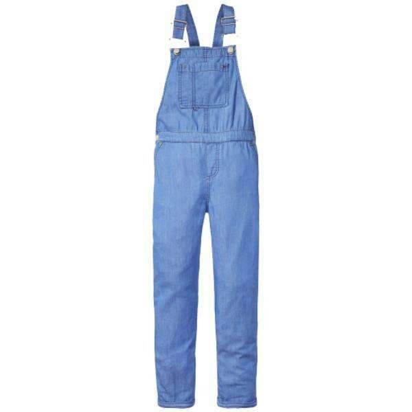 Drapy Indigo Tommy Hilfiger Jumpsuit - Front View
