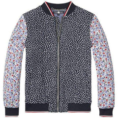 Flower Block Tommy Hilfiger Jacket - Front View