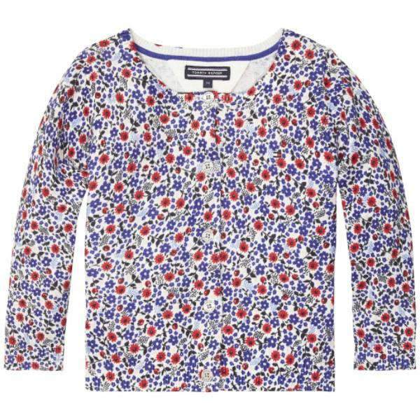 Flower Tommy Hilfiger Cardigan - Front View