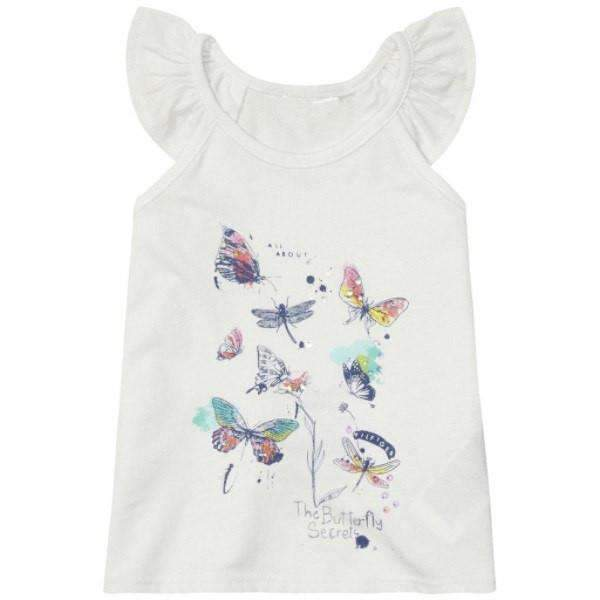 Butterfly Tommy Hilfiger Girls Top - Front View