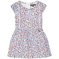Flower Rayon Tommy Hilfiger Girls Dress - Front View