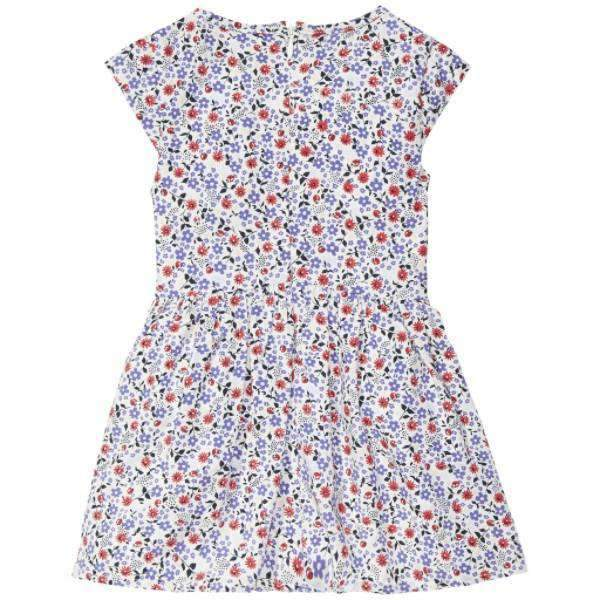 Flower Rayon Tommy Hilfiger Girls Dress - Back View