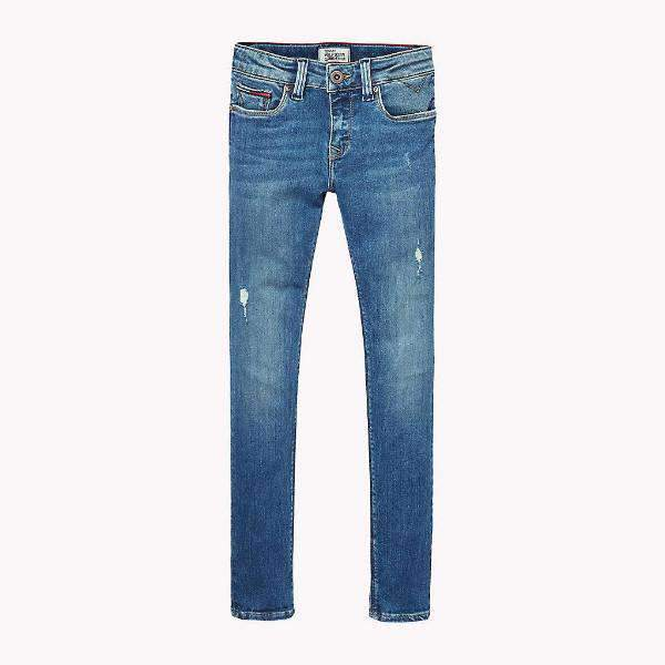 Nora Skinny Tommy Hilfiger Girls Jeans - Front View