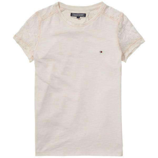 Ame Club Lace Tommy Hilfiger T-Shirt - Front View