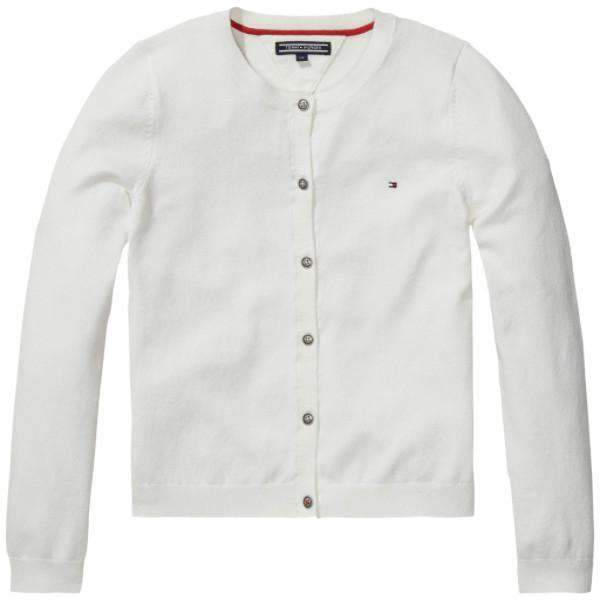 Long Sleeve Tommy Hilfiger Cardigan - Front View