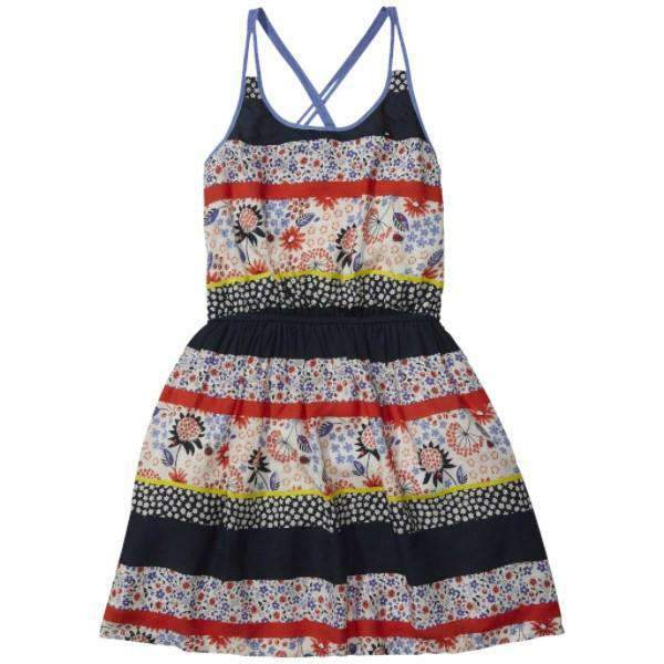 Patch Work Tommy Hilfiger Kids Dress - Front View