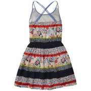 Patch Work Tommy Hilfiger Kids Dress - Back View