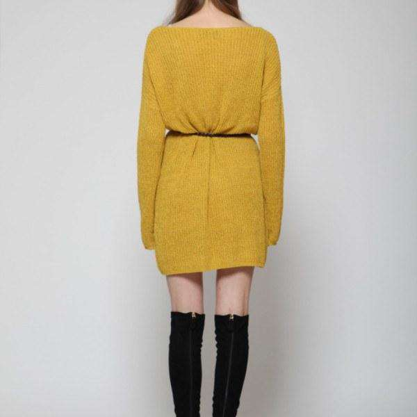 No Other Way Goldie Jumper Dress Back View