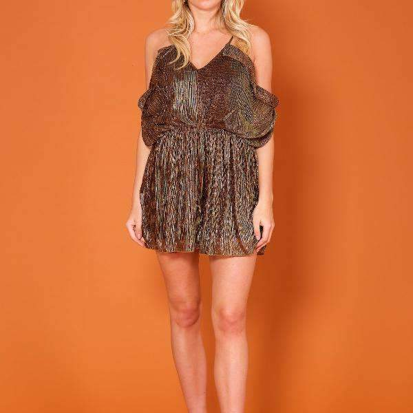 Glitz Forever Unique Playsuit - Front View