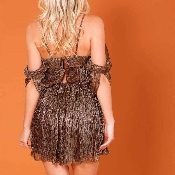 Glitz Forever Unique Playsuit - Back View