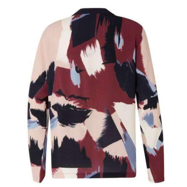 Paint Print Coster Copenhagen Long Sleeve Shirt - Back View