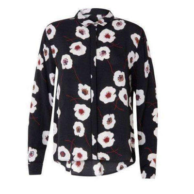 Poppy Print Coster Copenhagen Blouse - Front View