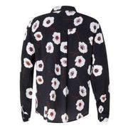 Poppy Print Coster Copenhagen Blouse - Back View