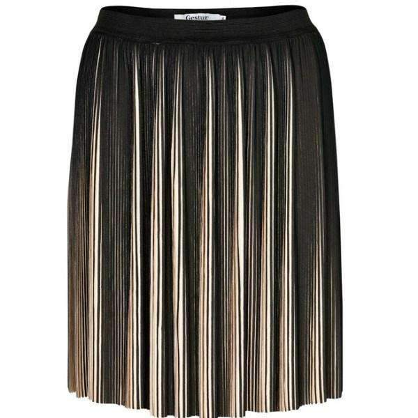 Augusta Pleated Gestuz Skirt - Front View