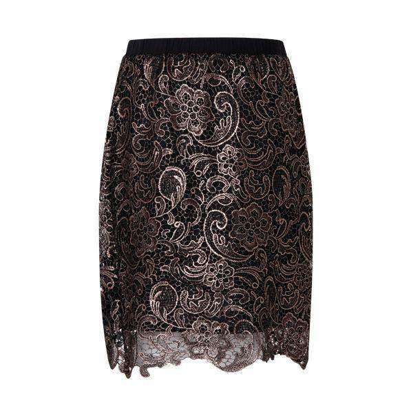 Cobber Lace Coster Copenhagen Skirt Front View