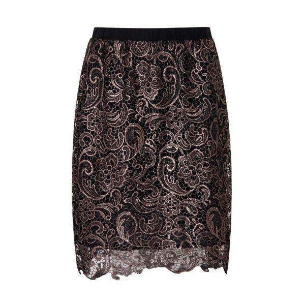 Cobber Lace Coster Copenhagen Skirt Back View