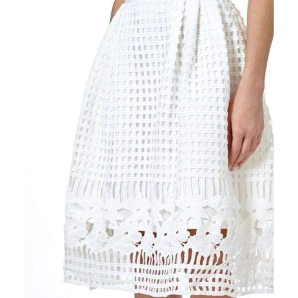 Marsha Textured Midi Skirt